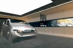 Virtueller Showroom mit 3D-Modell des Sion