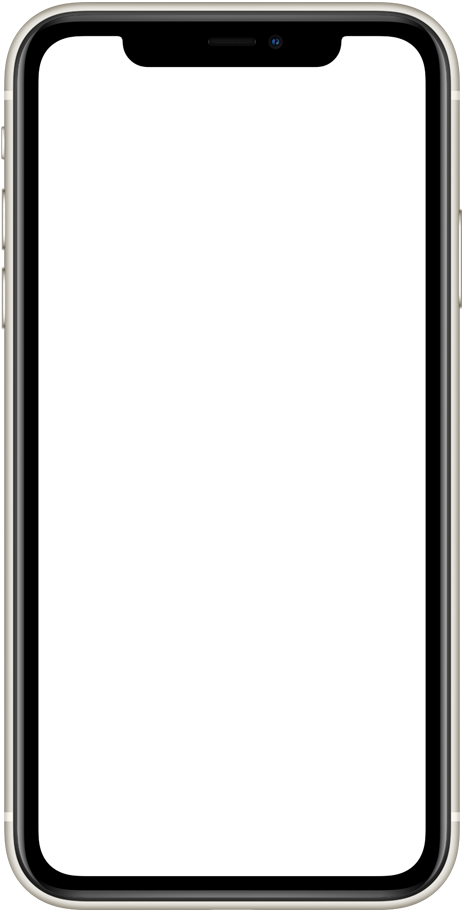iPhone Mockup transparent